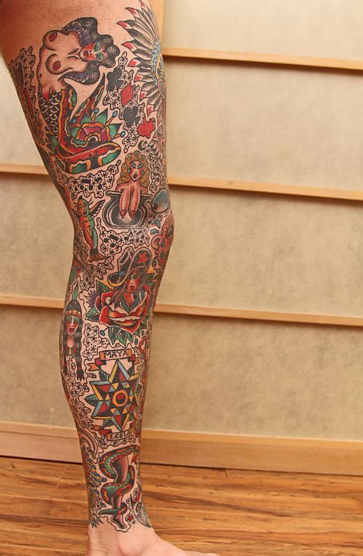 Left Leg Work