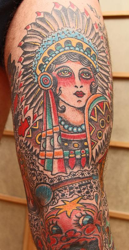 Indian Head by Robert Ryan