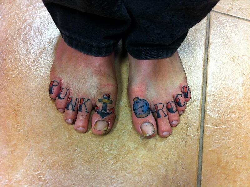 Punk Rock Toes
