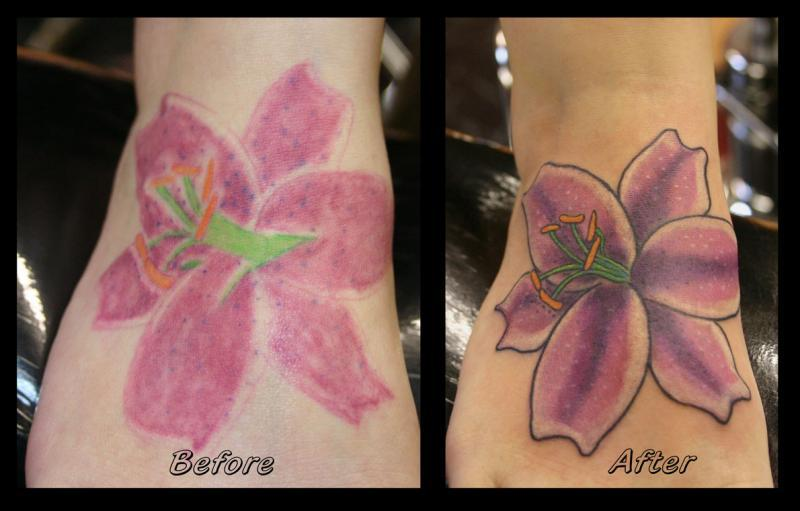 Foot Redo B4 and After copyweb