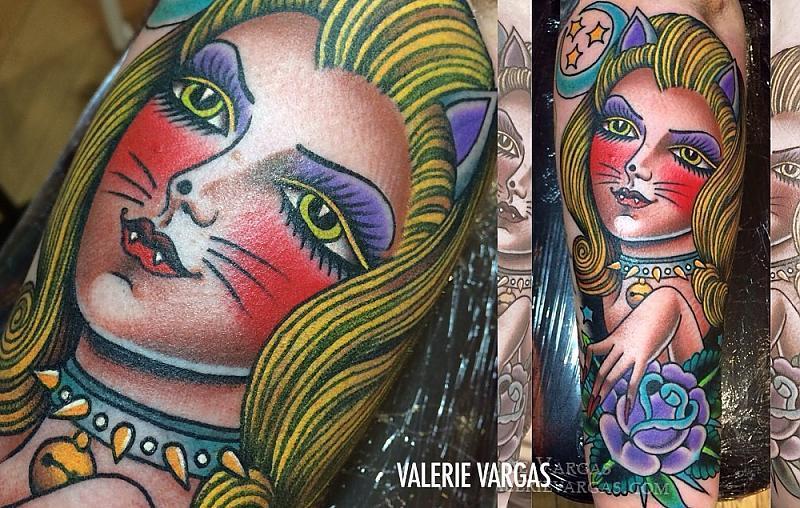 Valerie Vargas Cat Lady