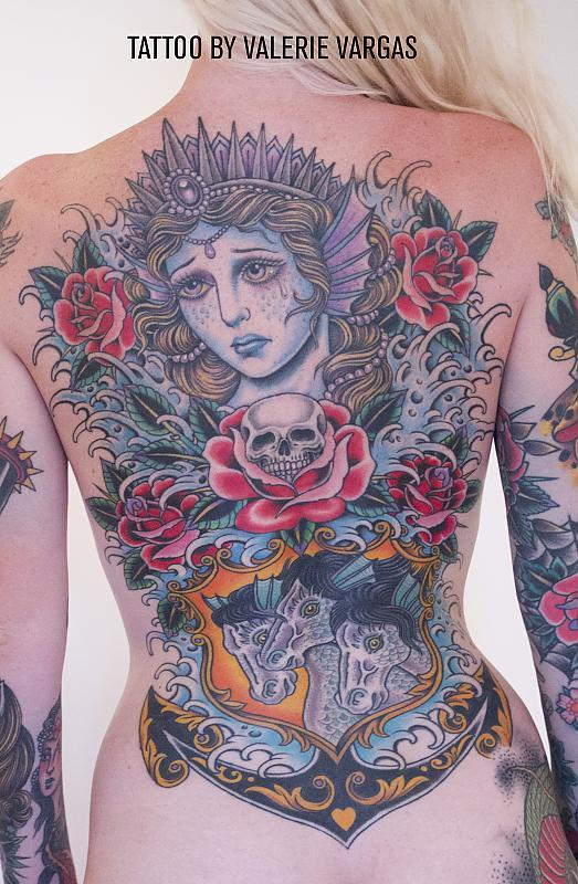 backpiece by Valerie Vargas