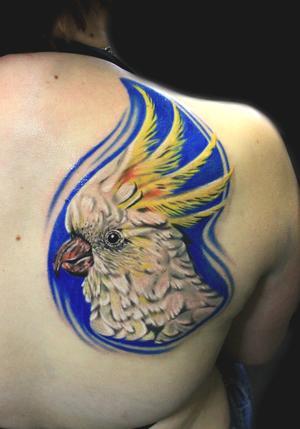 cockatoo tattoo