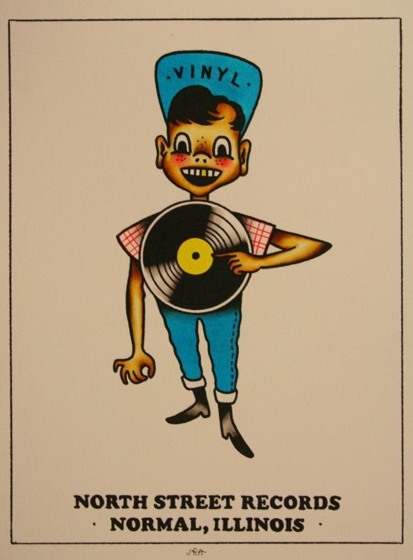 record boy