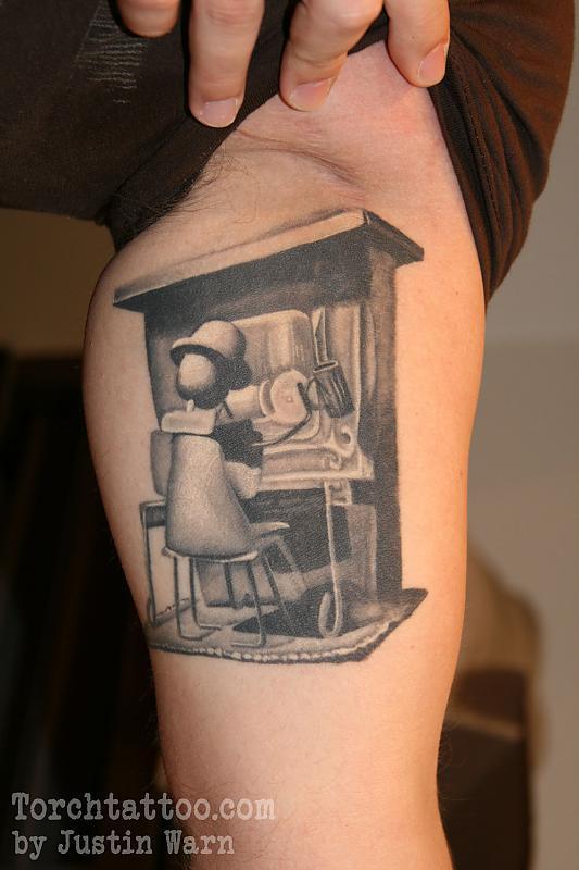 Torch Tattoo
