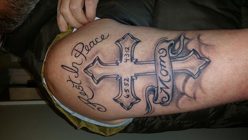 memorial tattoo for mom