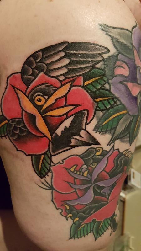 Magpie Rose Morph