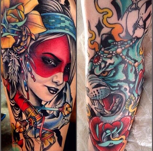 Cotyv tattoo work