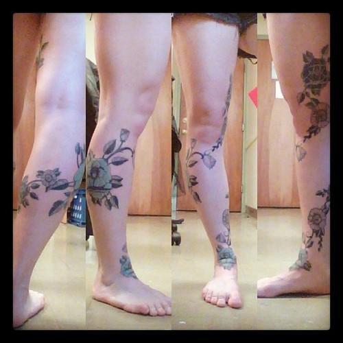 Floral Leg Piece