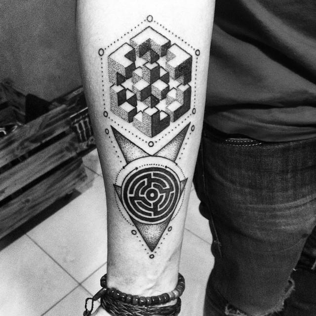 Geometric and Mandala Dotwork