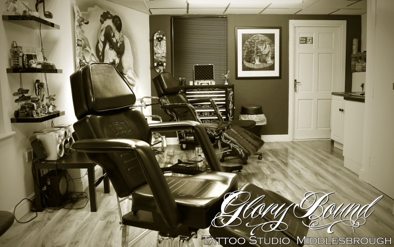 Glory Bound Tattoo studio pic