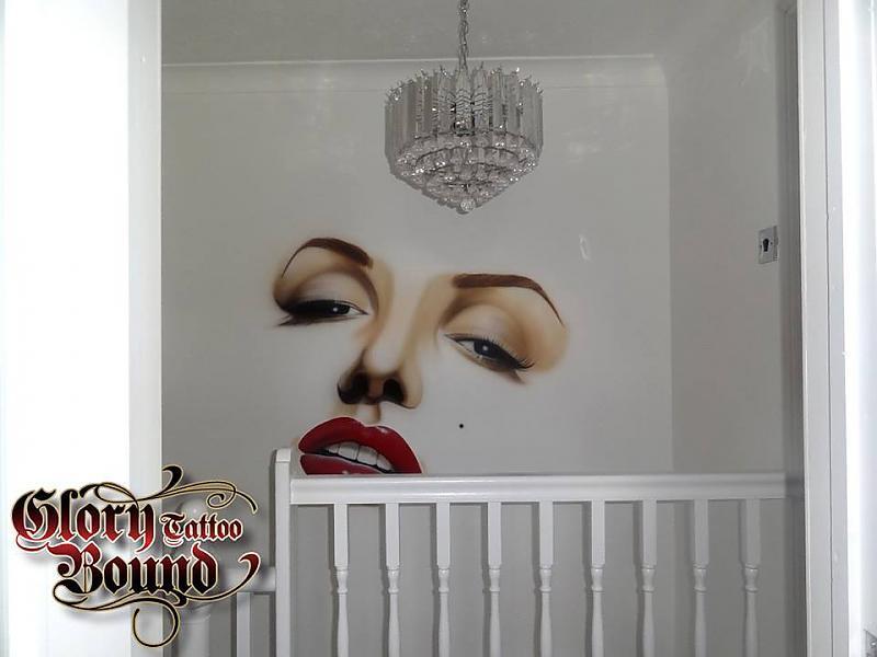 Cosmetic tattooing floor artwork