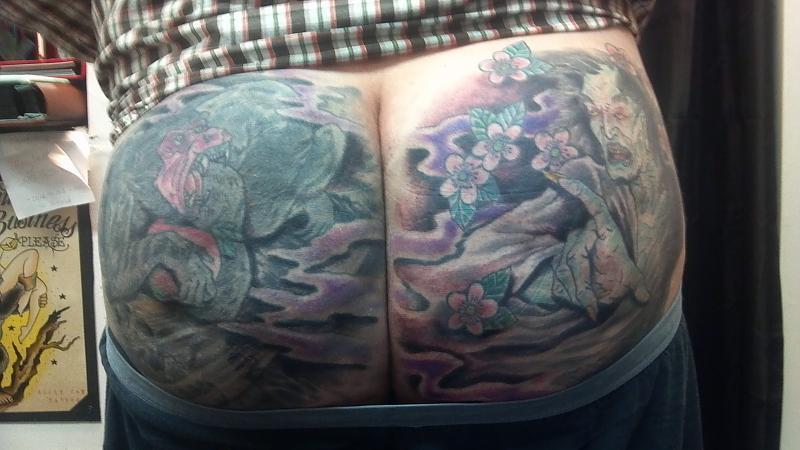 Butt tatts