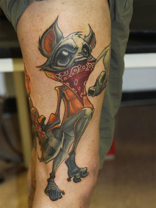 Crazy Racoon by Jesse Smith
