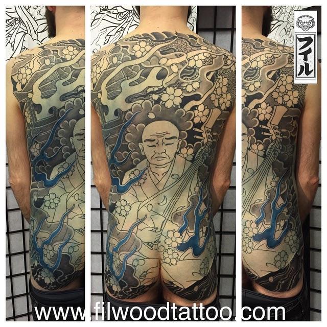 Hoichi back piece