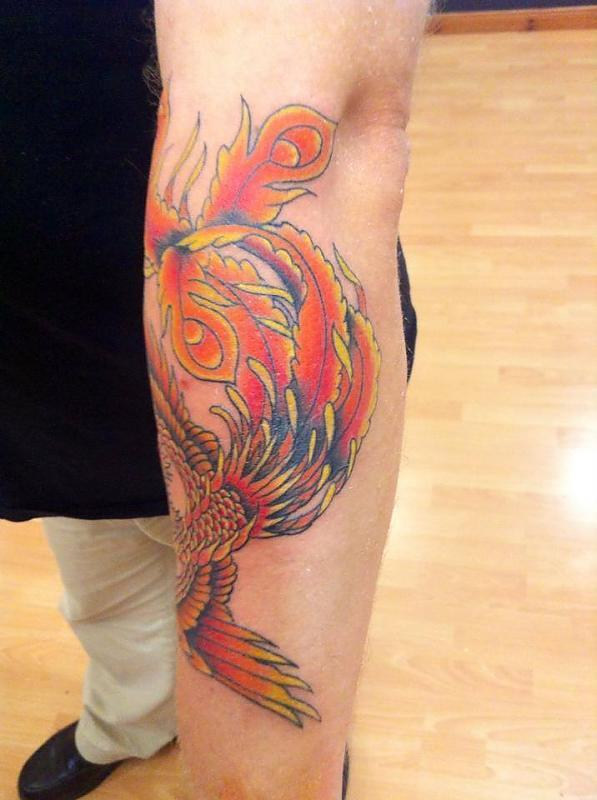 Phoenix finished  Taylors Ink 2014