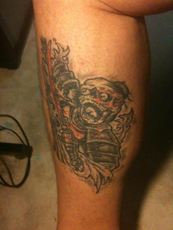 Undead Skeleton Samurai