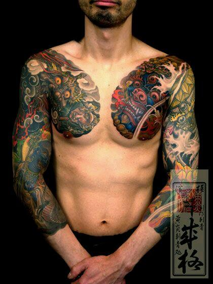 tattoo envy.  1of my favorite sleeves