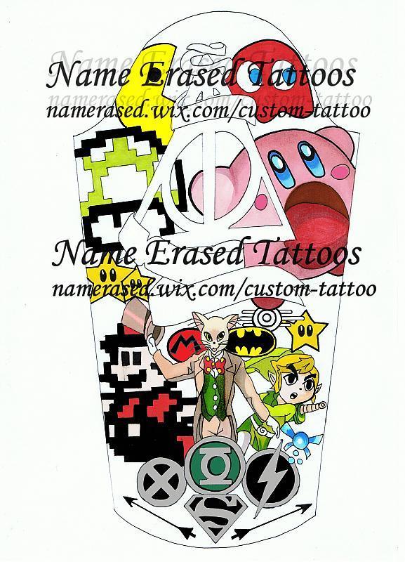 Tattoo Design: Flash