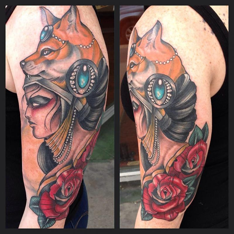 Fox Headed Lady