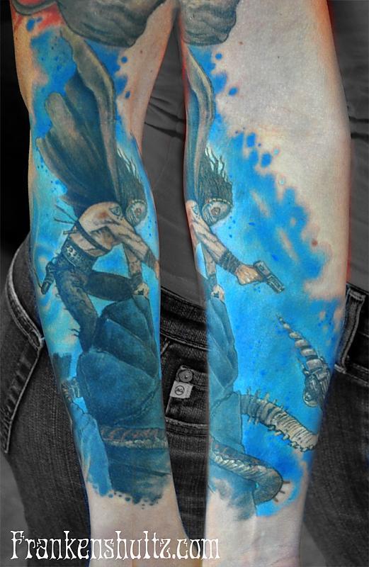 fantasy brom tattoo