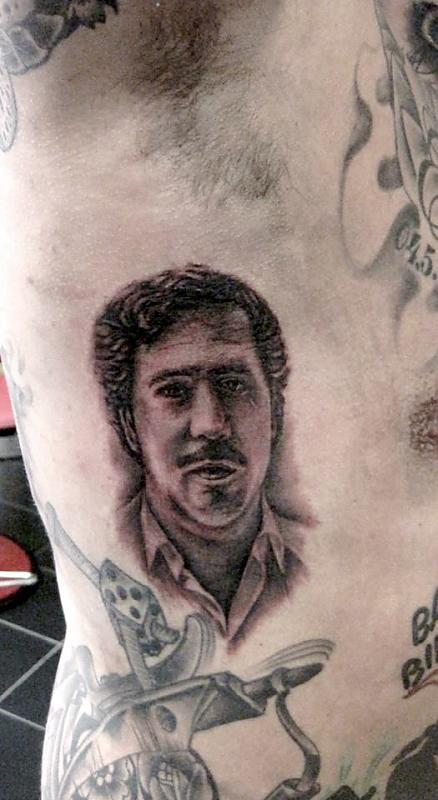 portrait robert tattoo art 293220