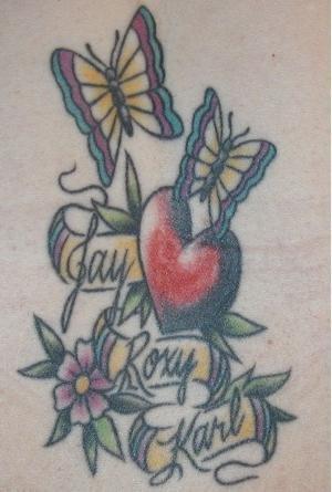 Bunny Katie butterfly heart
