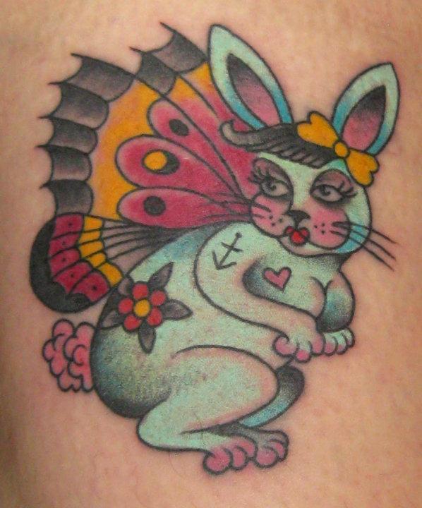 Bunny butterfly morph