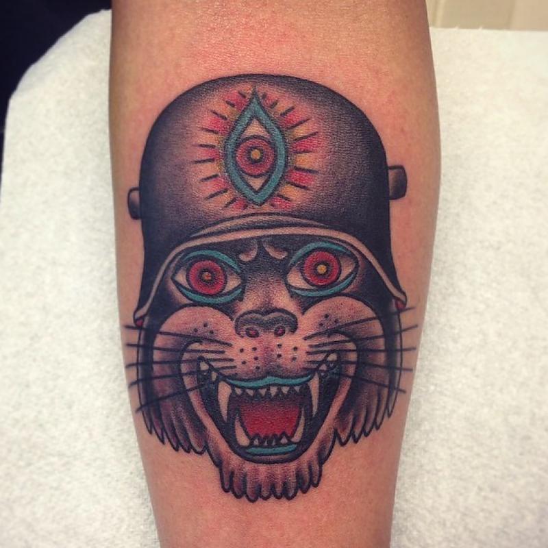 Third Eye Russian cat