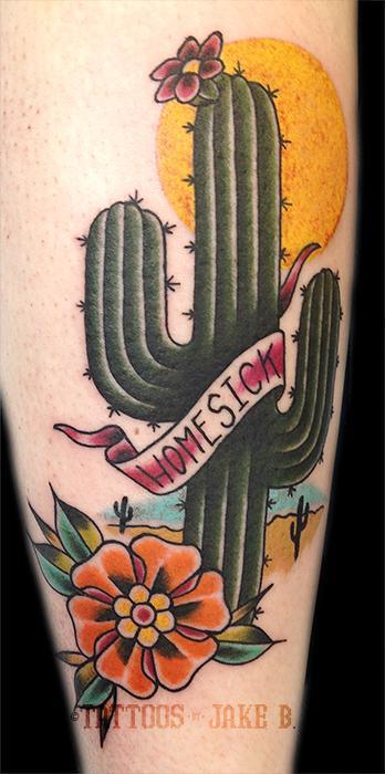 Homesick Saguaro