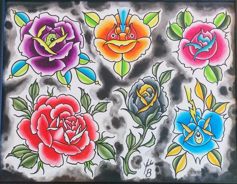Rose Sheet