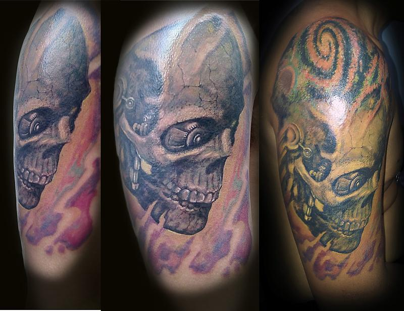 steam-punk-skull