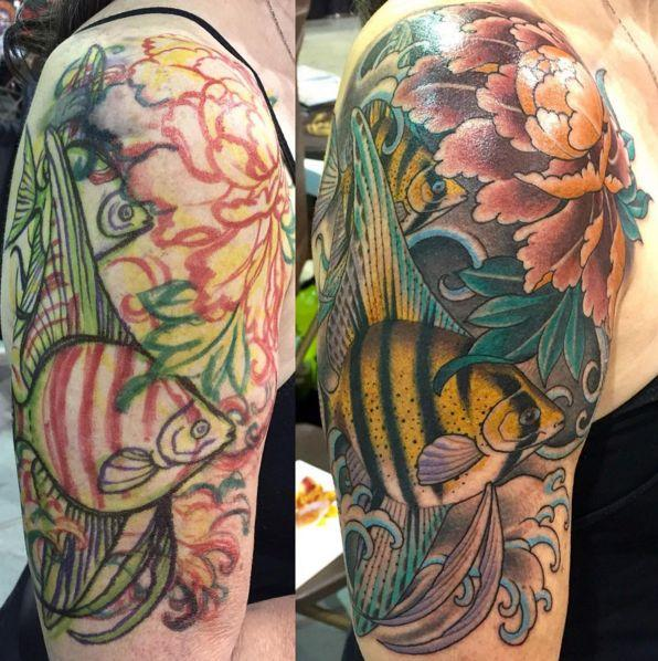 Angelfish Peony