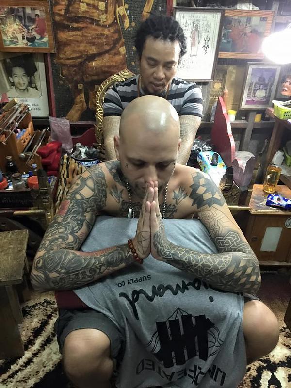Sak yant blessing