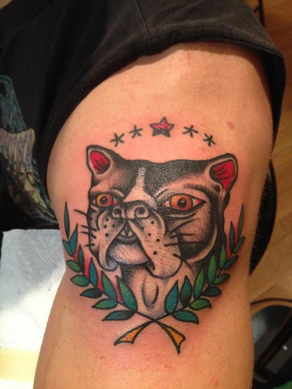 Boston Terrier Tattoo (Nana)