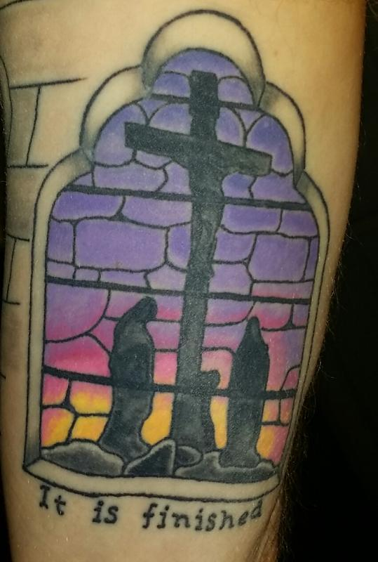 Inside right arm