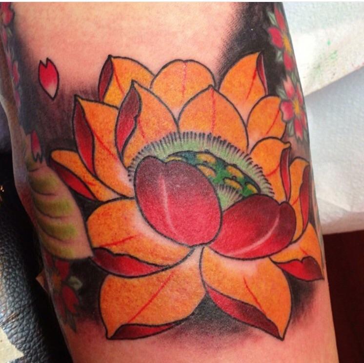 Inner arm Lotus