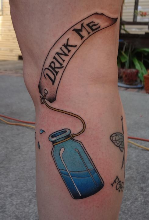 drink me bottle (healed)