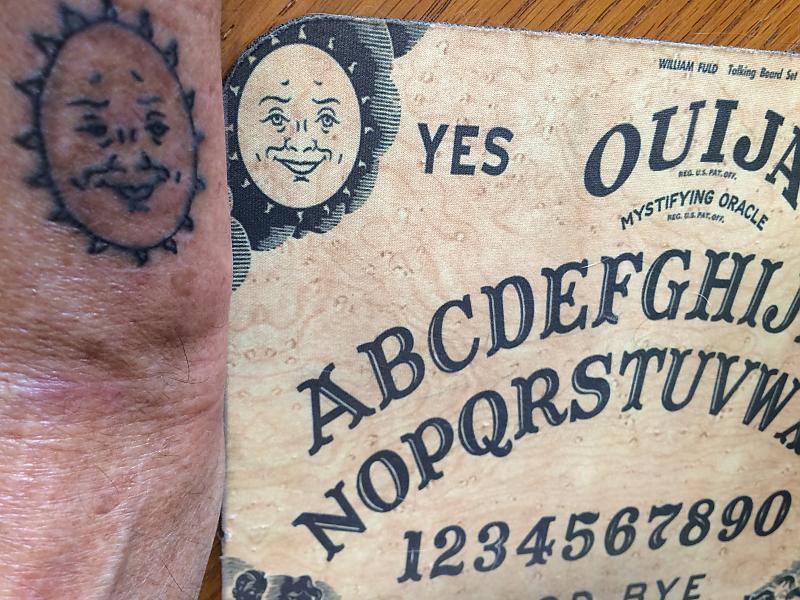Ouija Wrist Topside