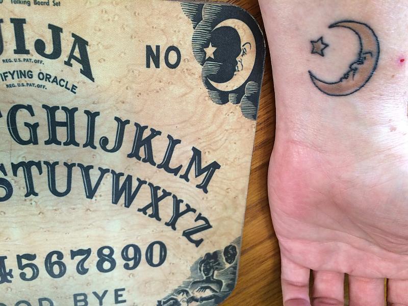 Ouija Wrist Underside