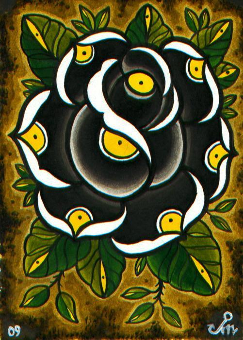 bk rose small