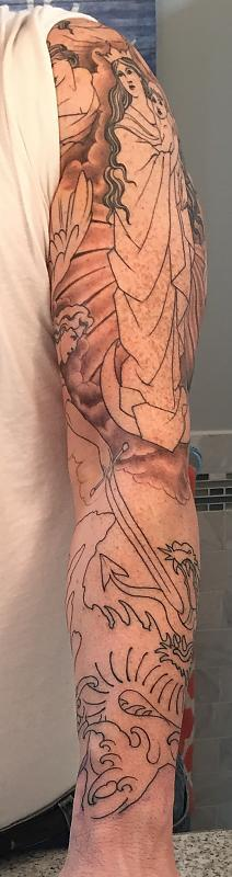 Dore Sleeve, session 2