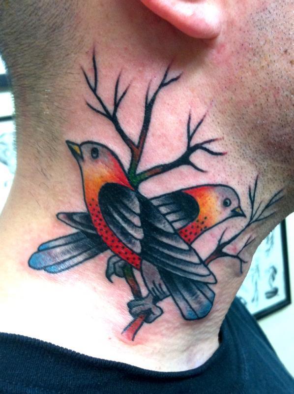 neck birds