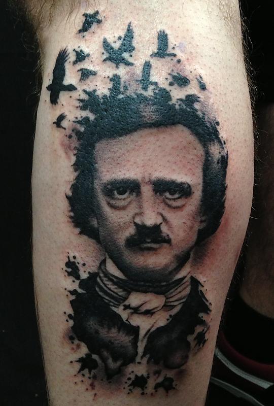 Edgar Allan Poe Portrait by Vinny Romanelli