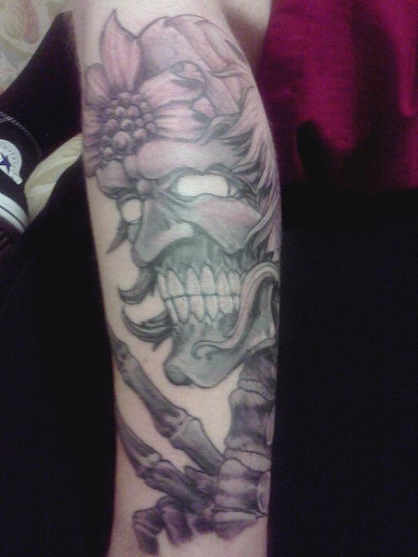 free hand tattoo work