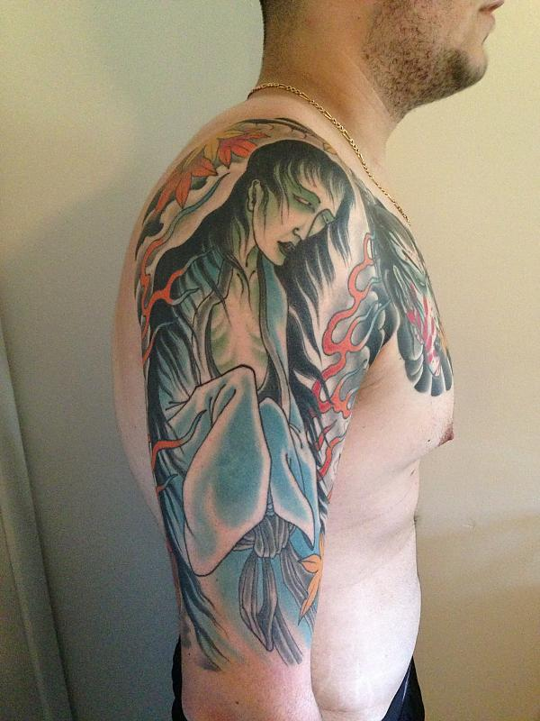 Half Sleeve and Chest Panel
