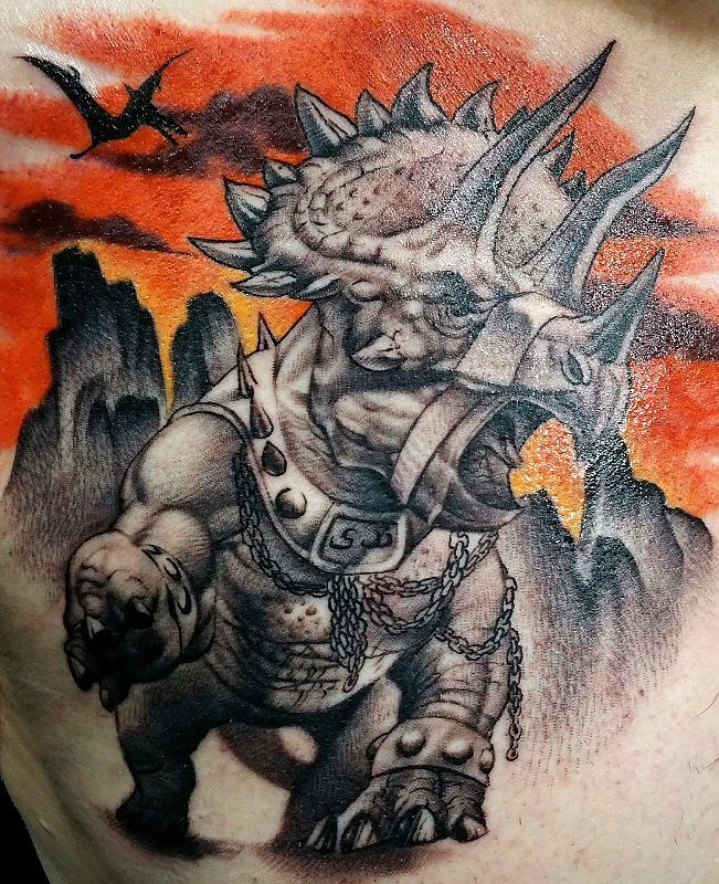 War Triceratops