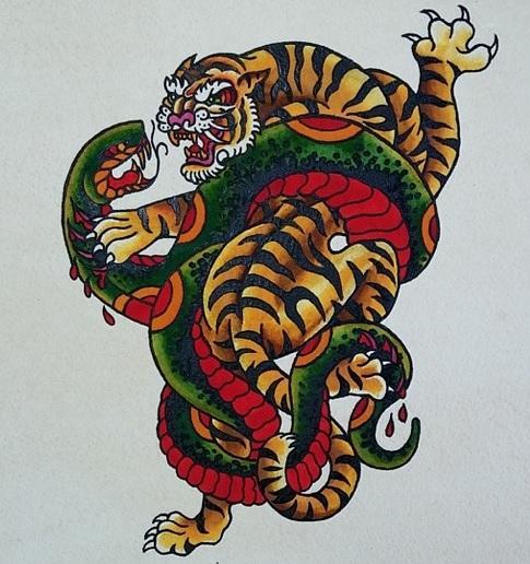 Tiger vs Snake