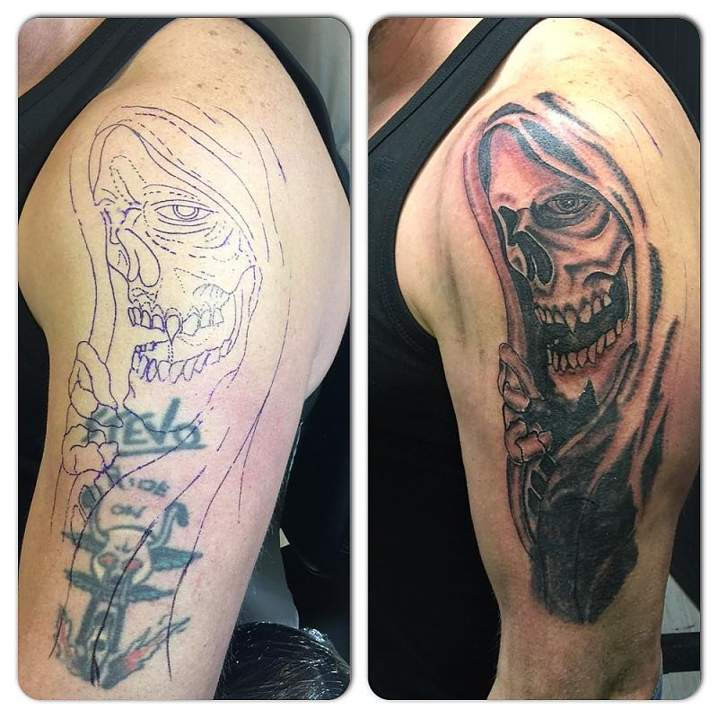 Cover Up Grim Reaper