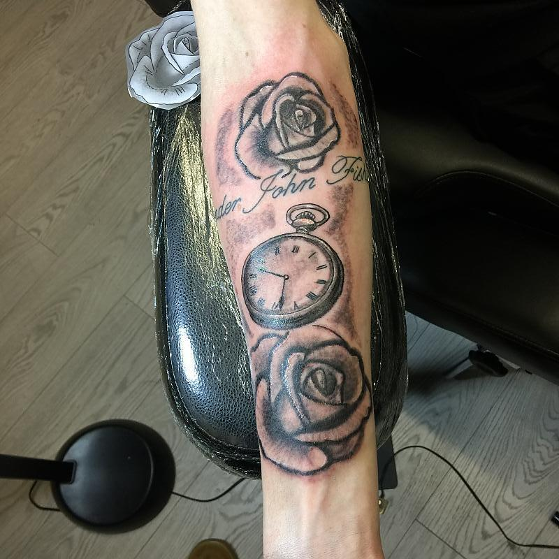 Roses And Pocketwatch